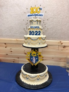 council 2022 100th cake