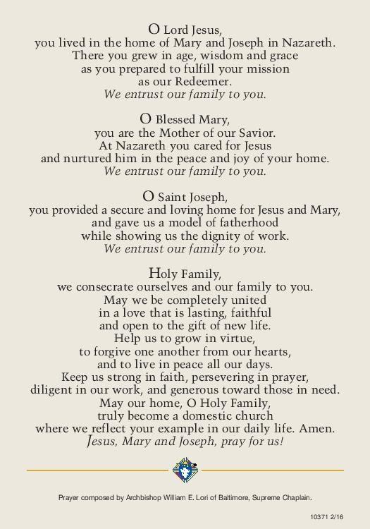 Prayer Haoly Family Feast