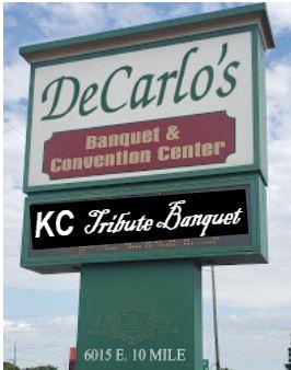 DeCarlos Tribute sign