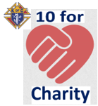 10 for Charity b
